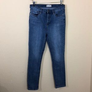 Euc Free People high rise skinny jeans 29